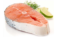 Picture of Norwegian salmon steak