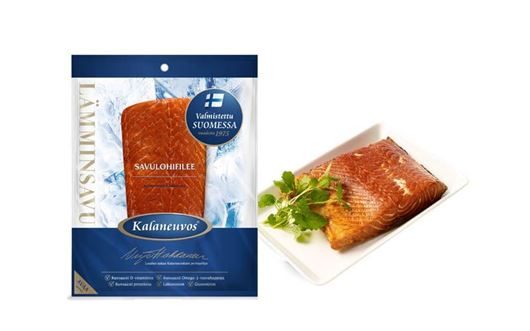 Picture of HOT-SMOKED SALMON FILLET PIECE